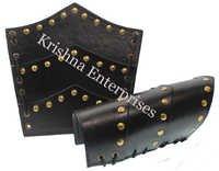 Greek Leather Arm Guard