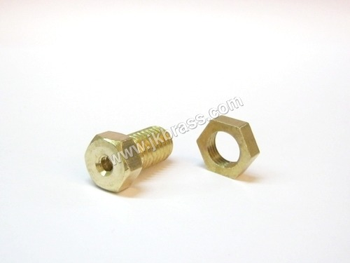 Brass Hex Nut & Bolt