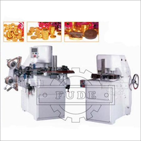 Coin Chocolate Wrapping Machine