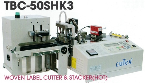 Woven Label Cutter & Stack (Hot)