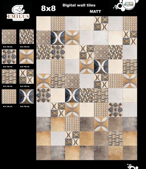 Patchwork Ceramic Wall Tiles