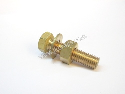 Brass Nut Bolt & Washer