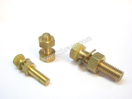 Brass Hex Nut Bolt & Washers