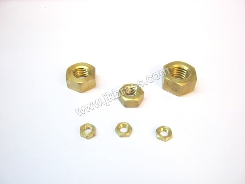 Brass Hex Type Nuts