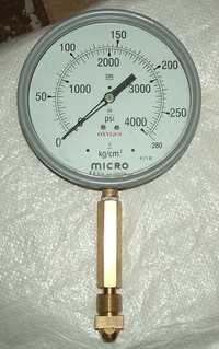 Testing Pressure Gauge for Oxygen