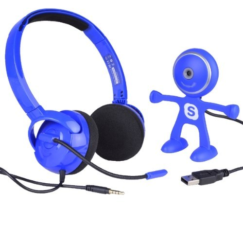Binatone Stereo Headset & HD Webcam