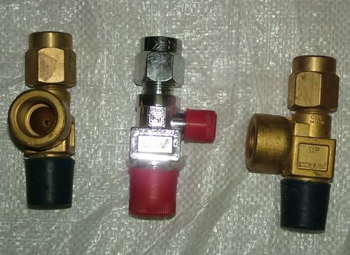 Oxygen & Co2 Cylinder Valve
