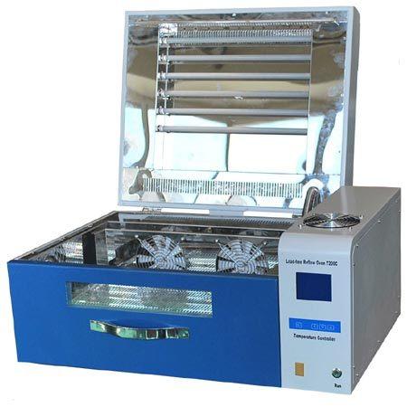 Desk mini intelligent lead-free Reflow Oven T200C for PCB component welding