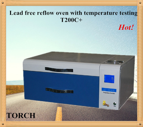 Desk mini intelligent lead-free Reflow Oven T200C+ for PCB component welding