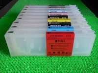 Refillable Cartridges For Epson 7890/9890 Printer