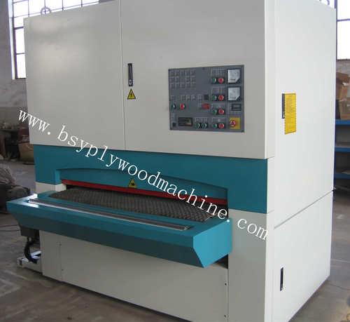 Doppelte breite Riemen-Hauptsandpapierschleifmaschine