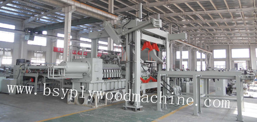 Vertical Log Centering Charger Machine