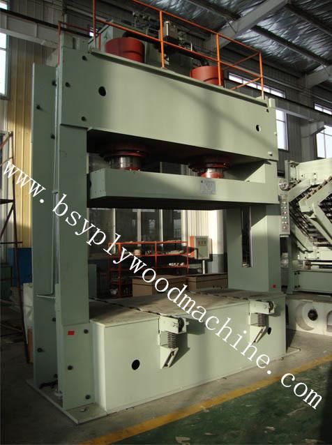 Plywood Cold Press Machine