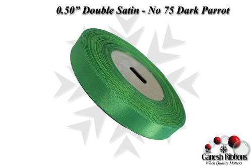 Double Satin Ribbons - Dark Popti