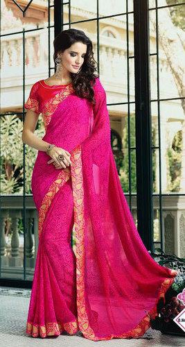 sanskar mooana georgette jacquard saree with high