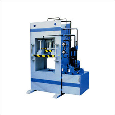 Double Action Hydraulic Machine