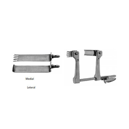 Medial Blade for Caspar Cervical Retractor