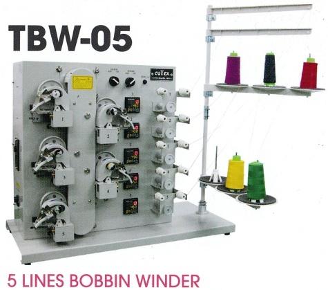 5 Lines Bobbin Winder