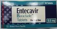 Entecavir Tablets 0.5mg or 1mg