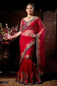 Designer wedding saree online