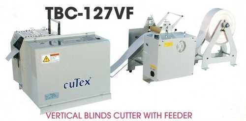 Vertical Blinds Cutter With Feeder -02