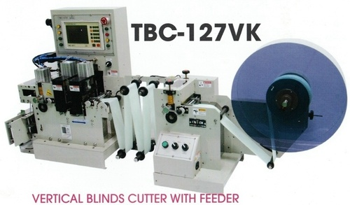 Vertical Blinds Cutter With Feeder -03