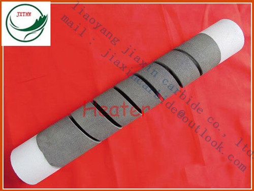 SG (single spiral)type Silicon carbide heating elements