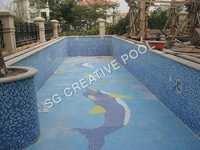 Swimming Pool Glass Mosaic Tile