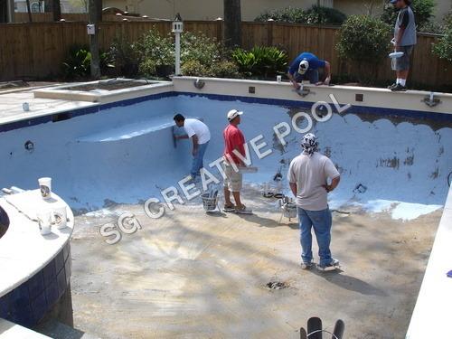 Swimming Pool Floor Waterproofing Services