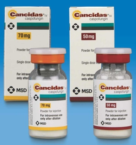 CANCIDAS 50 or 70mg Caspofungin injection