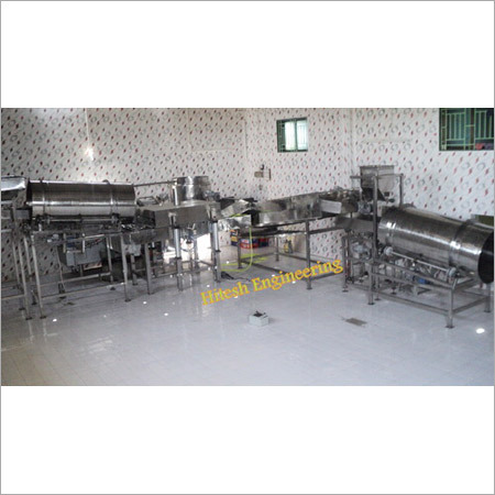 Automatic Pellet Frying Line