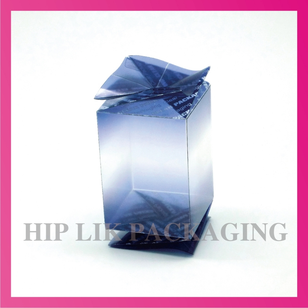 Clear Folding Boxes