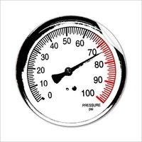 High Pressure Gauge