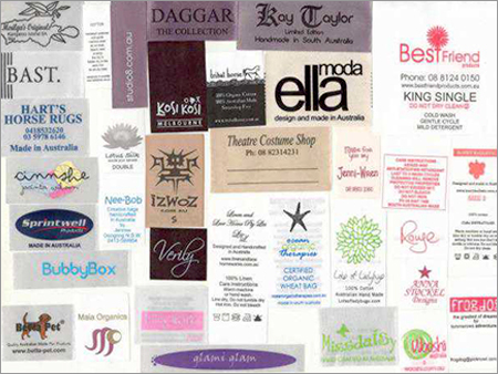 Clothing Labels
