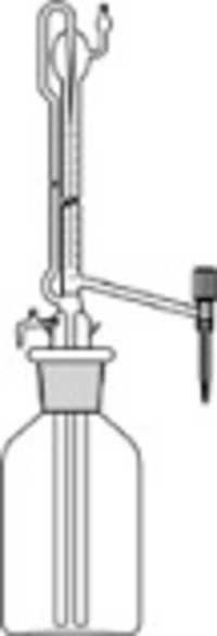 Burettes, Automatic Zero Glass Key Stopcock