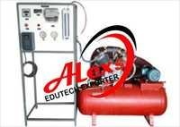 Multi Stage Air Compressor Test Rig