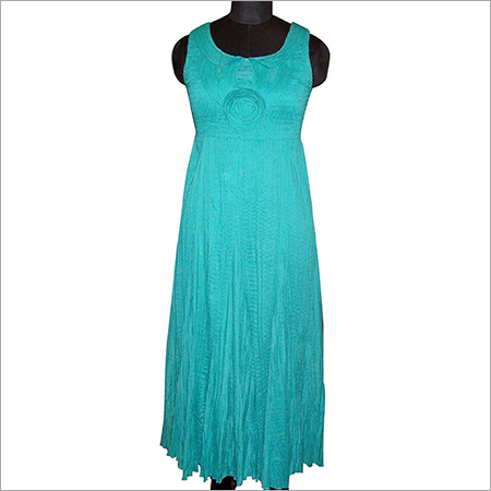 TAPE YOKE DRESS