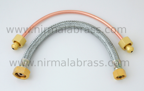 Brass Stove Flexible Pipe