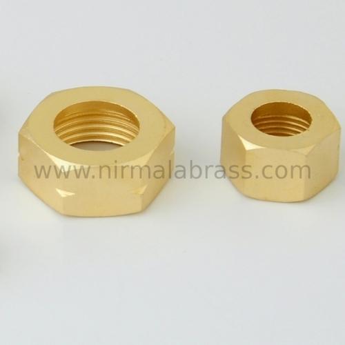 Brass LPG Hex Nut