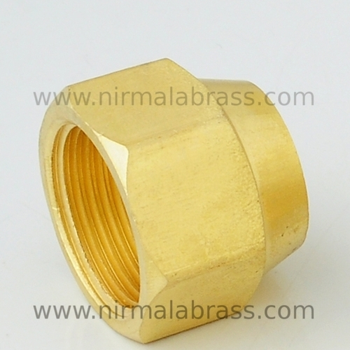 Brass Gas Fittings Nut