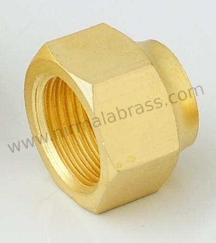 Brass LPG Fittings Nut