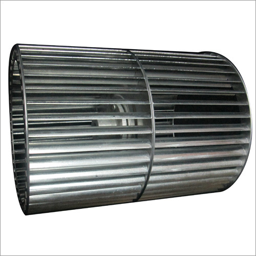 Aluminum Double Inlet riveted blowers