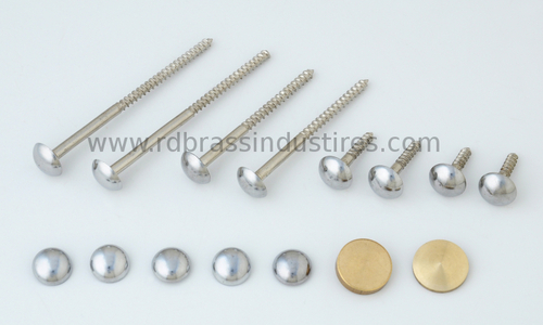 Mirror Screws With Caps