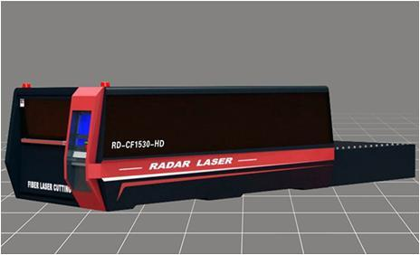 Overall Surrounding Fiber Laser Cutting Machine