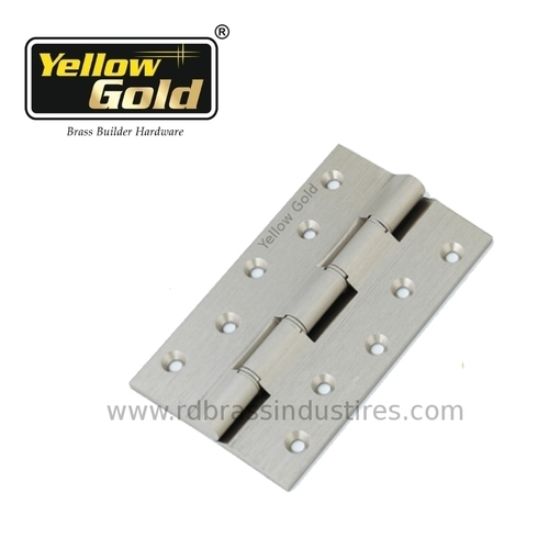 Solid Brass Railway Washer Hinges