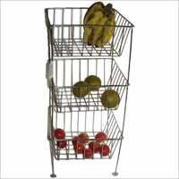 BIG SIZE SS VEGETABLE BASKET