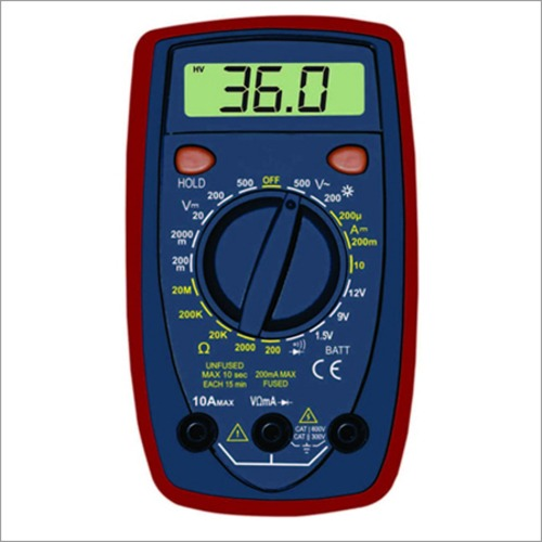 3 1/2 Digital Multimeter with Battery Test