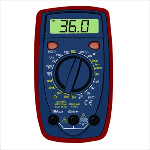 3 1/2 Digital Multimeter with Temperature and Transistor