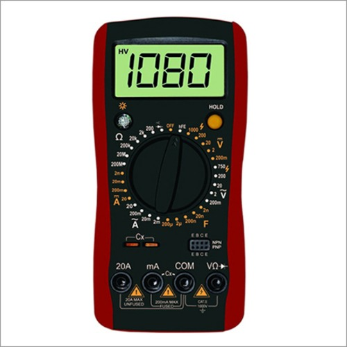 3 1/2 Digital Multimeter with Capacitance
