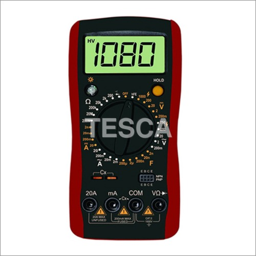 3 1/2 Digital Multimeter with Temperature and Frequency